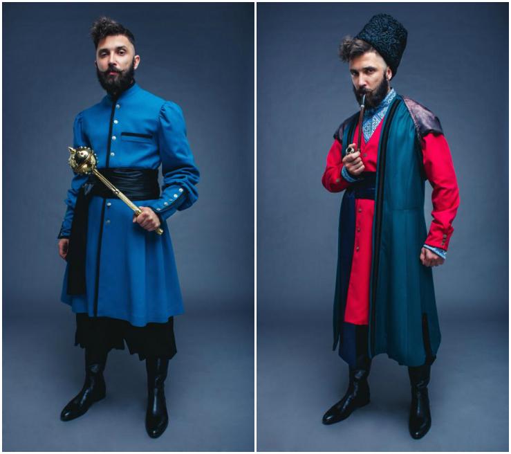 Отаман  одяг козацької старшини актуальний і сьогодні Мода «VAROSH ... ea1b4cc3fd156