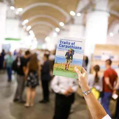 Презентація книги «Стежками Карпат. 80 маршрутів в Українських Карпатах» Олега Ямалова