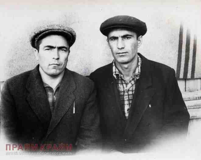 Іл. 4. Типові представники радянського кримінального світу 1950 рр.