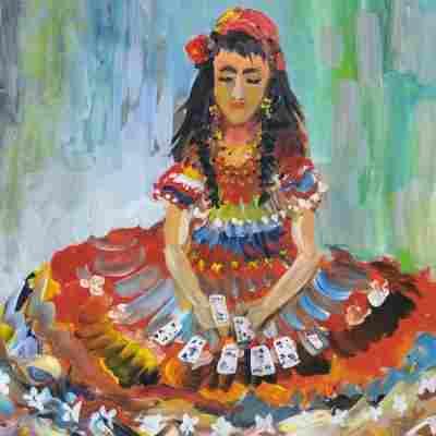 Виставка картин ромської художньої школи та Тиберія Йонаша