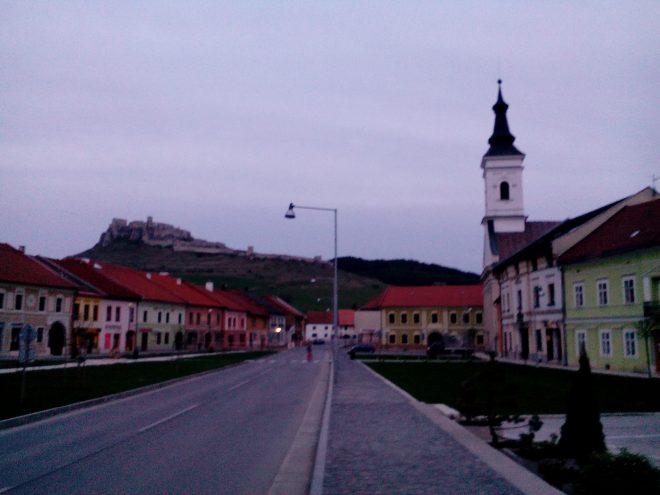 Спишське Подградє і вигляд на Спишський замок