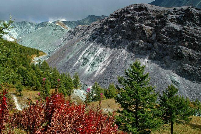 2.Горная система Алтай,долина Ярлу
