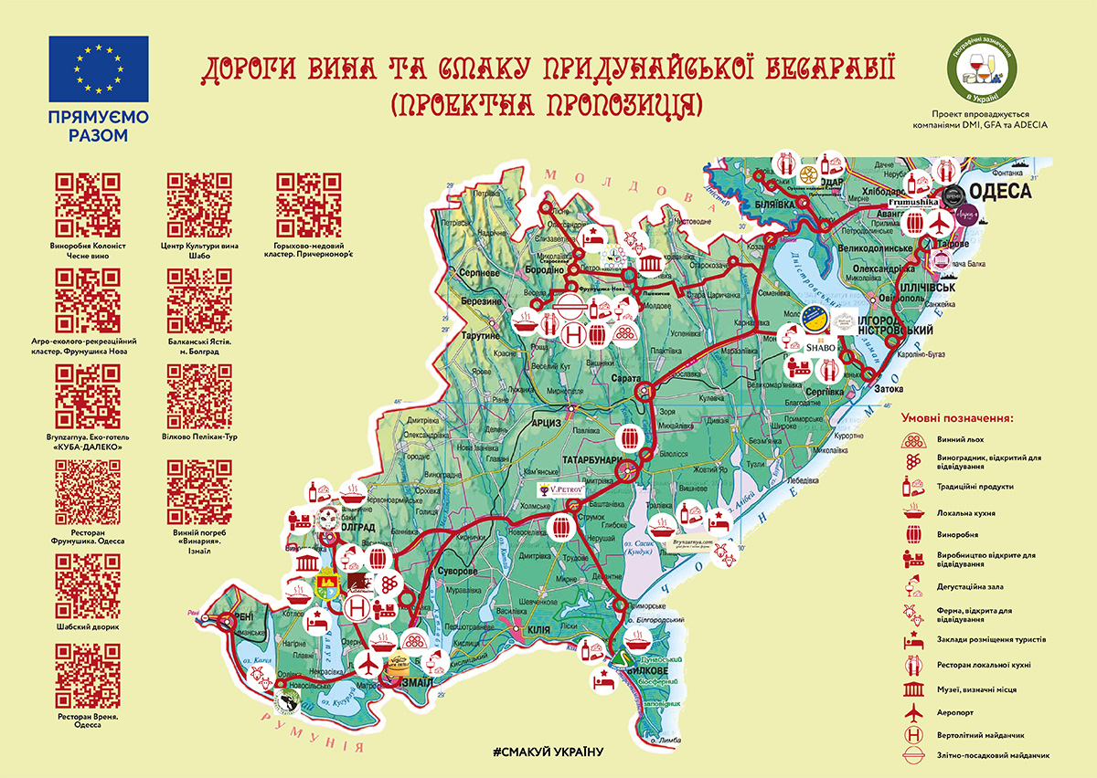 Bessarabia Map Small