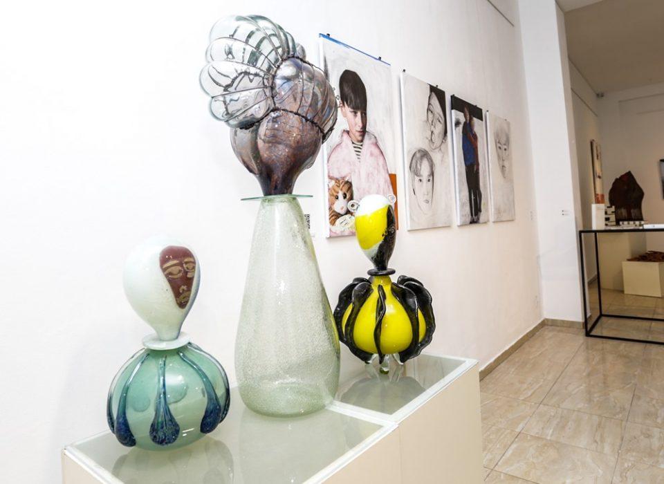 Яна Масалович. З виставки Наші.5 років у галереї ЛНАМ, 2020. Фото О.Лядик.