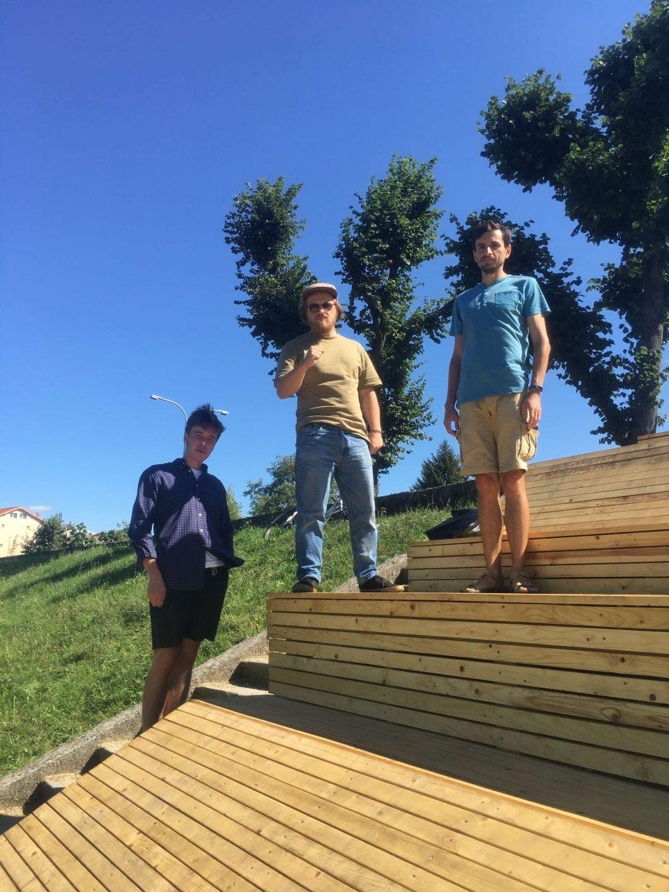 Як молоді архітектори за кошти мукачівців створили біля річки зону відпочинку (ФОТО), фото-1