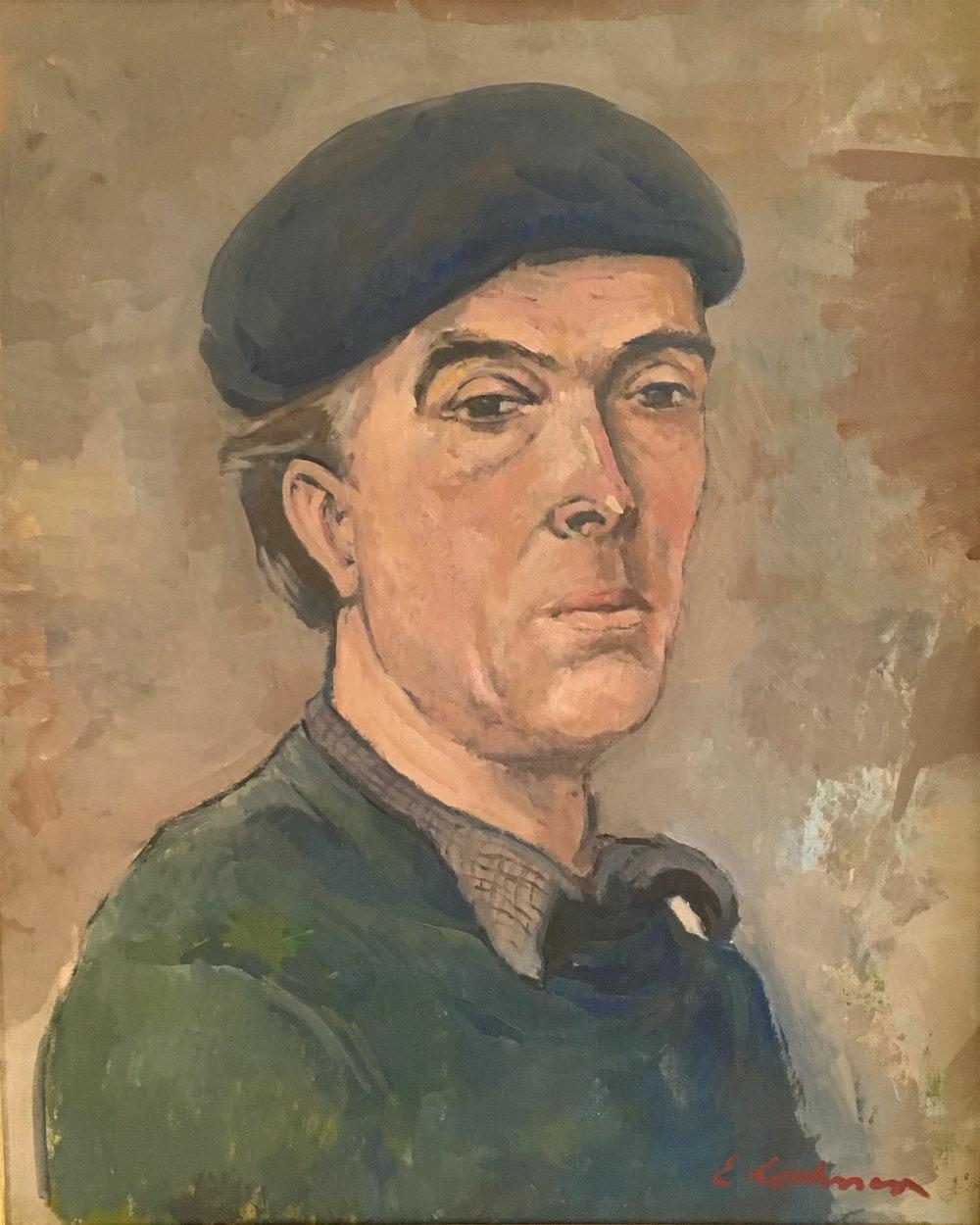 Emile Lahner Self Portrait Pic