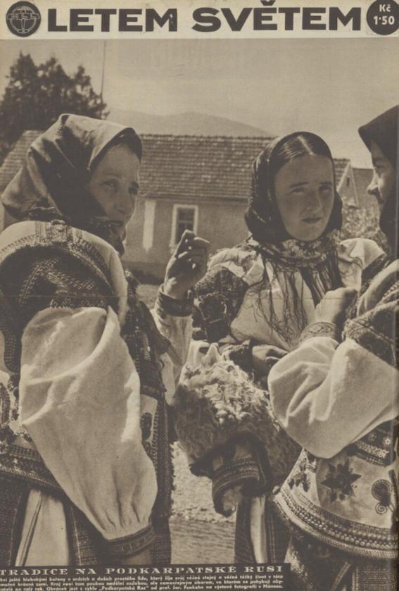 Mainpage Letem Svetem 1938