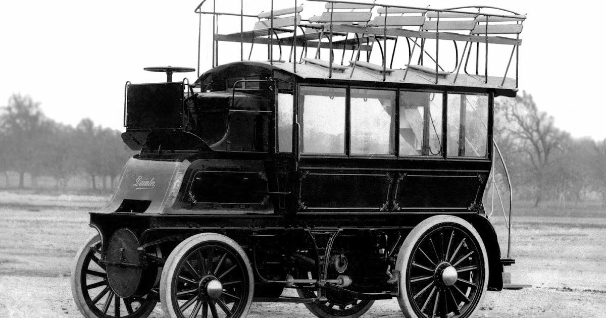 2 1899 Daimler Imperial Double Decker Bus