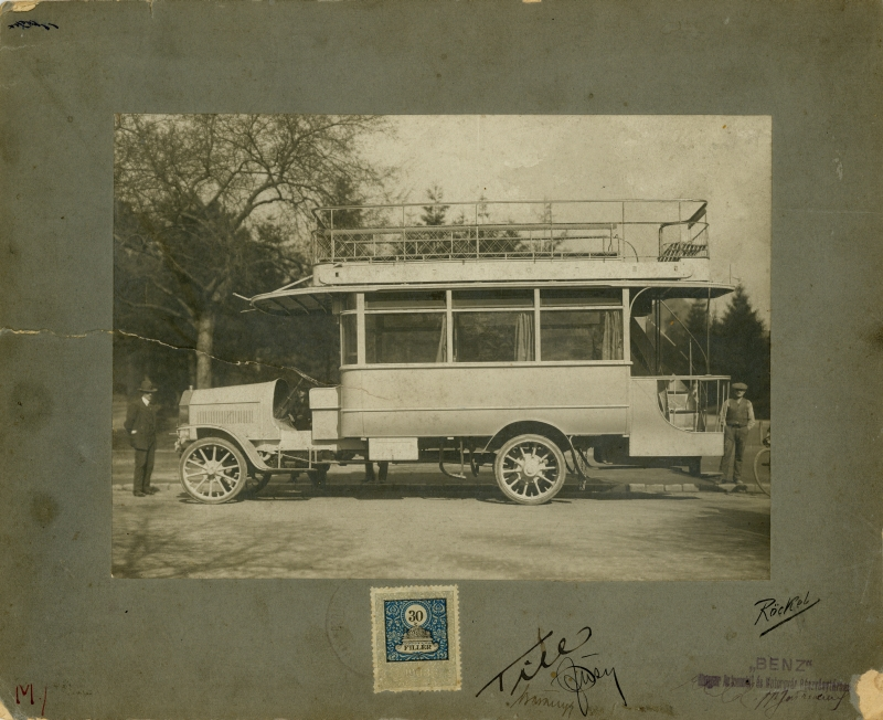 5 автобус БЕНЦ 1916