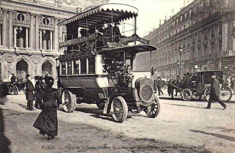 7 автобус париж