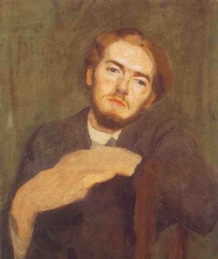 Вікіпедія Portrait Of Béni Ferenczy 1912