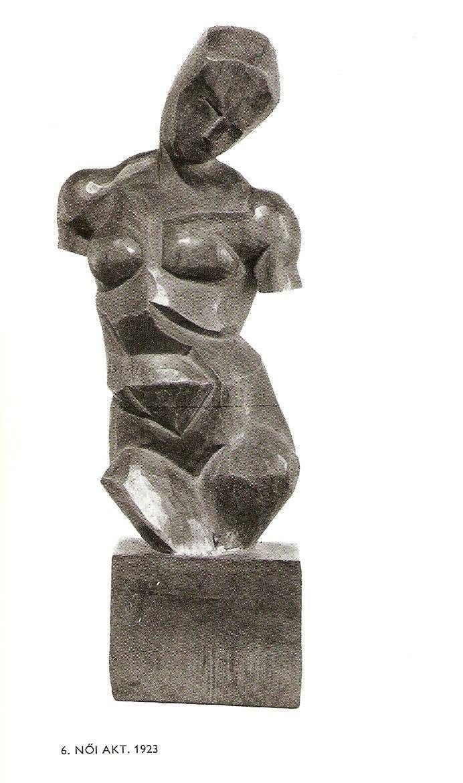 Жіночий акт. 1923 р., Szabó Katalin «ferenczy Béni» (budapest, 1976)