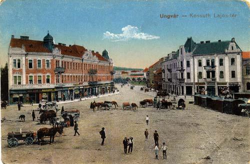 Площа Л. Кошута, 1922 р. Фото з сайту Old Ungvar