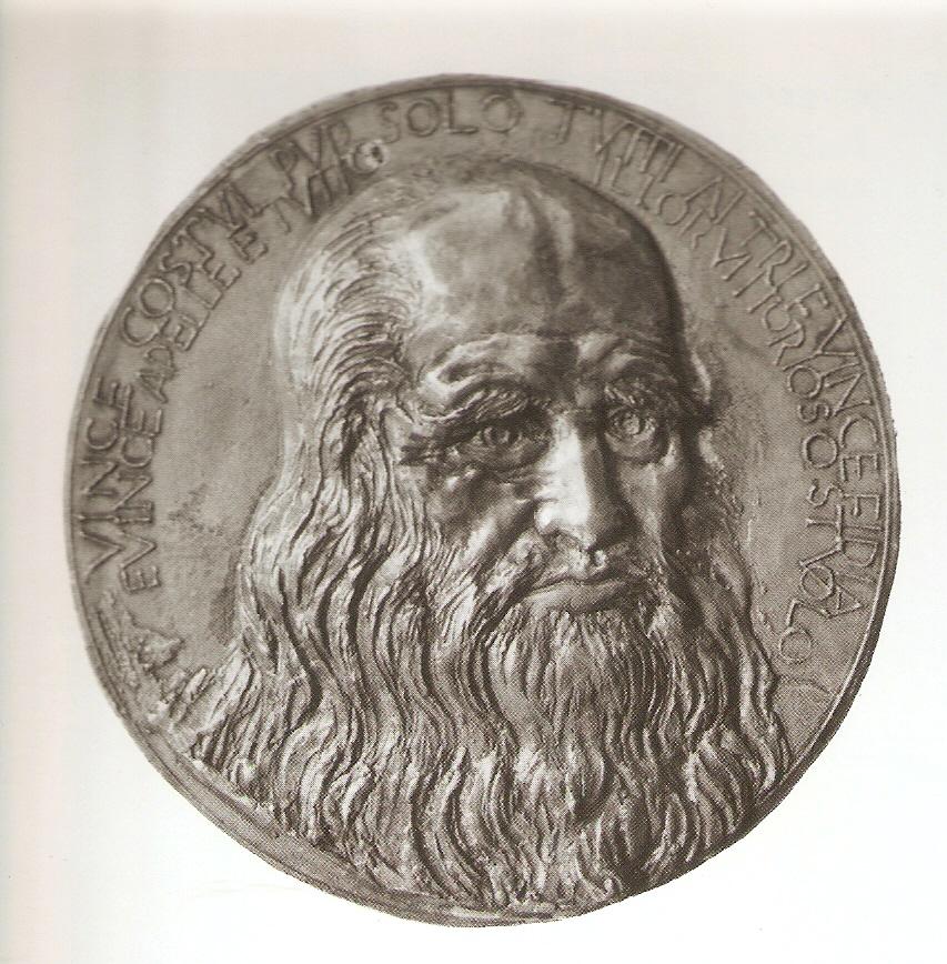 Портрет Мікеланджело на медалі, створеній Бені Ференці